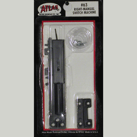 Atlas HO Right Manual Switch Machine #63