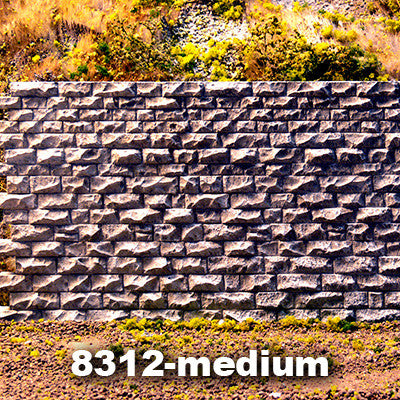 Chooch Cut Stone Interconnecting Wall