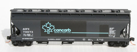 N Micro-Trains Cancarb 3 Bay ACF Hopper
