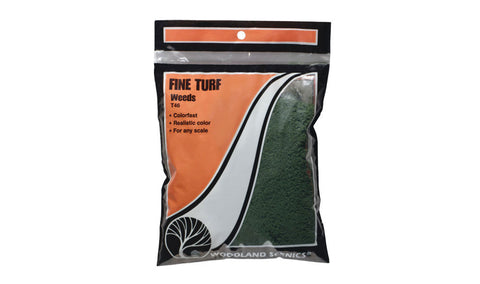 Fine Turf Bag, Weeds/18 cu. in.