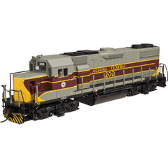 HO Atlas Trainman Gold Algoma Central GP38-2 Diesel Loco #204 with DCC and Sound