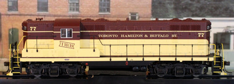 HO Atlas GP7 Gold TH&B #77 Diesel Locomotive 10-002-987