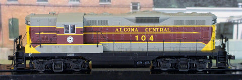 HO Atlas Gold GP7 Algoma Central #104 Diesel Locomotive 10-002-923