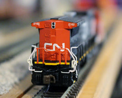 N Bachmann GE Dash 8-40cw CN Locomotive #2162 With DCC and Sound