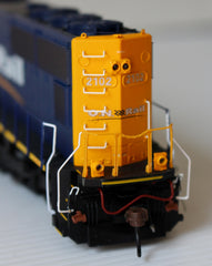 HO Athearn Ontario Northland SD75I Diesel Locomotive with DCC & Sound #2104
