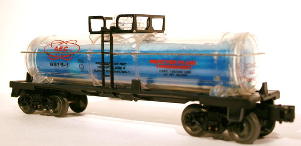 O Lionel 6315-1 AEC Reactor Fluid Tank Car 6-16153