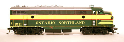HO InterMountain FP7A Ontario Northland Diesel Locomotive