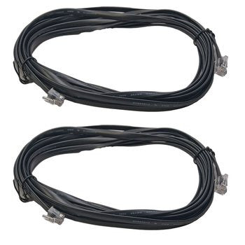 Digitrax LNC162 16 Ft. LocoNet Cable 2 Pk.