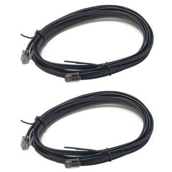 Digitrax LNC82 8 Ft. LocoNet Cable 2 Pk.