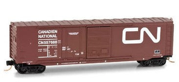 N Micro-Trains CN 50' Standard Box Car 076-00-010