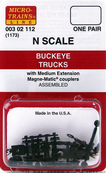 Micro-Trains N Scale buckeye Trucks #1173