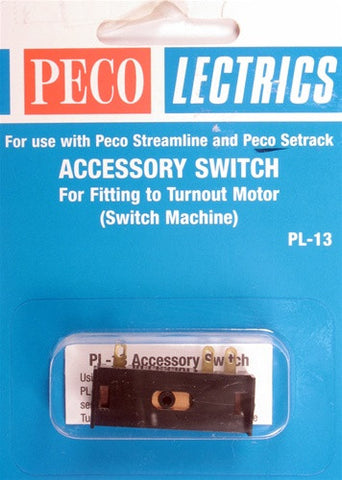 Peco HO Accessory Switch PL-13