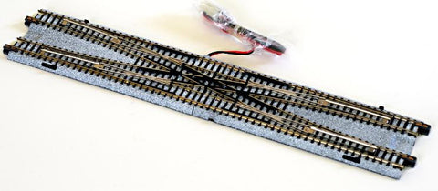 "Kato N Scale 12 3/16"" Double Crossover Track #20-210"