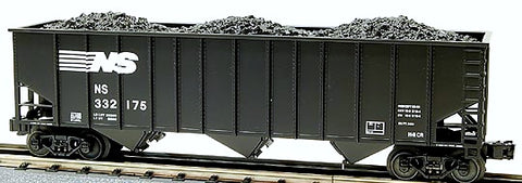 O Lionel Norfolk Southern 3-Bay Coal Hopper 6-27120