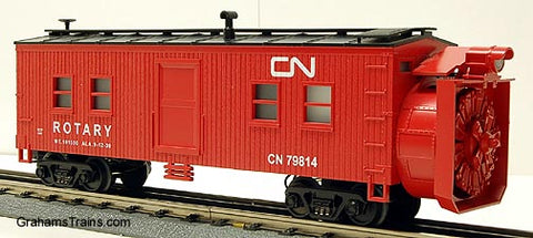 MTH Rail King Canadian National Snow Plow 30-7922