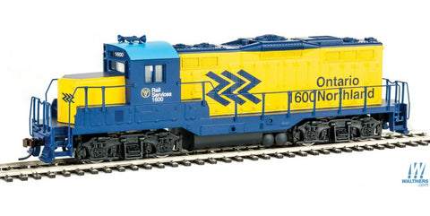 Walthers Trainline HO Ontario Northland GP9M Diesel Locomotive 931-456