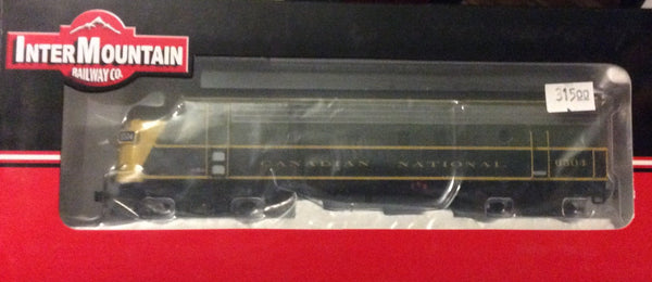 HO Intermountain CN FP9A Locomotive with DCC and Sound
