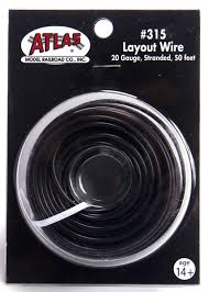 Atlas Layout Wire Black #315