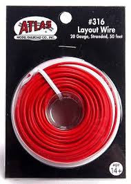 Atlas Layout Wire Red #316