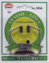 N Model Power Lighted Traffic Lites 8566