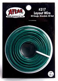 Atlas Layout Wire Green #317