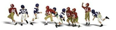 HO Woodland Scenics Youth Football Players A1895