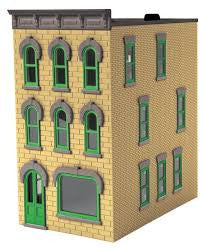 O Rail King 3-Story Town House