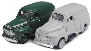 HO Mini Metals '48 Ford Delivery Truck