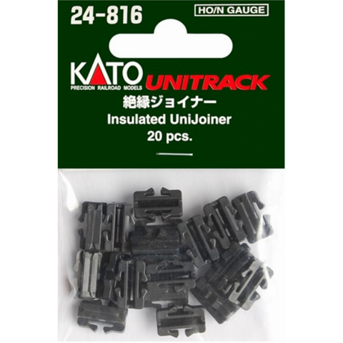Kato HO/N Scale Insulated UniJoiners #24-816