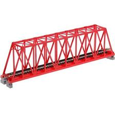N Kato Single Track Truss Bridge 248MM RED S248T 20-430