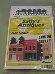 HO Smalltown USA Sally's Antiques 699-6010