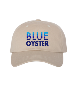 Blue Oyster Dad Hat - Stone