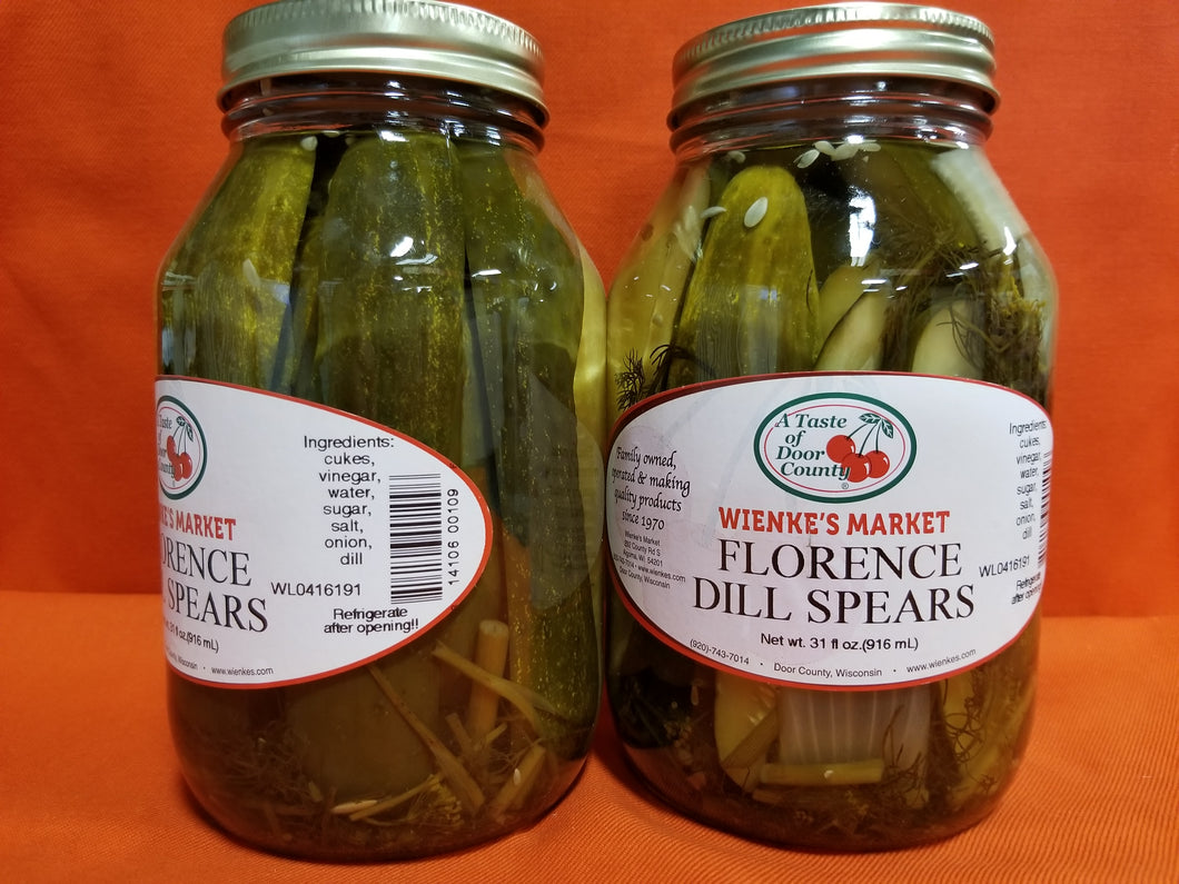 1 qt. Florences Dill Spears