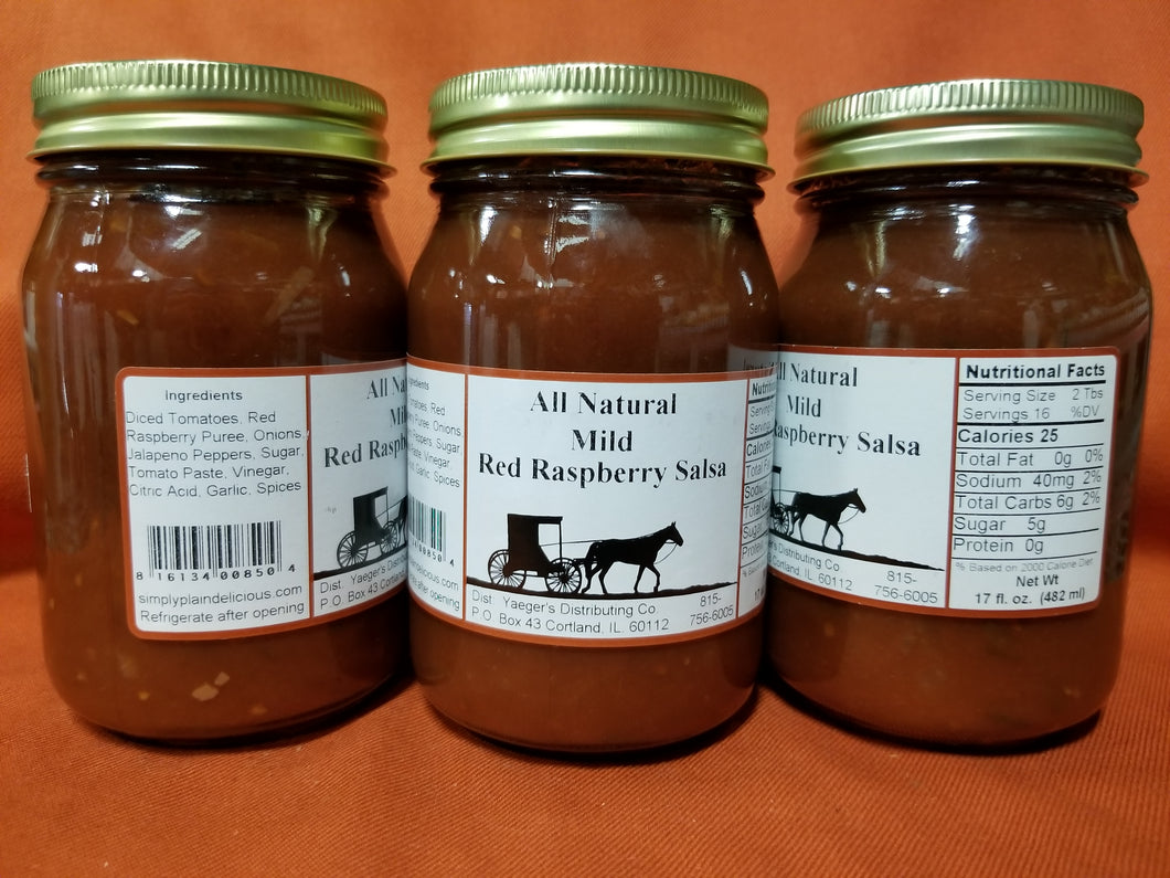 Salsa Red Raspberry-Mild