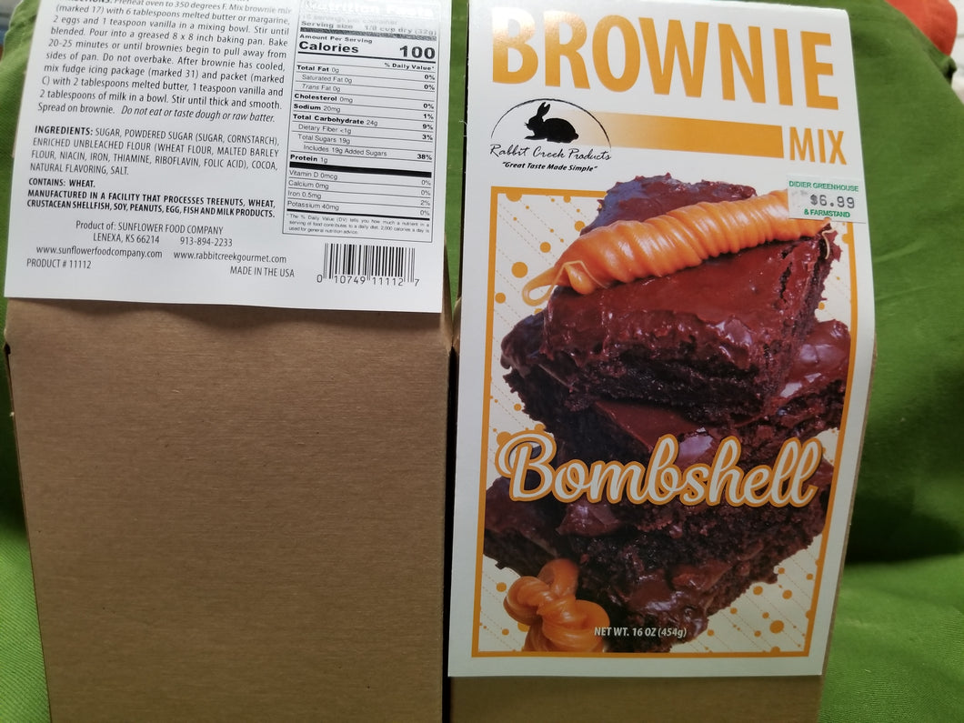 Bombshell Brownie Mix
