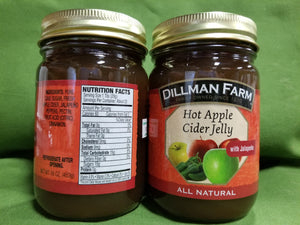 Hot Apple Cider Jelly w/Jalapeno