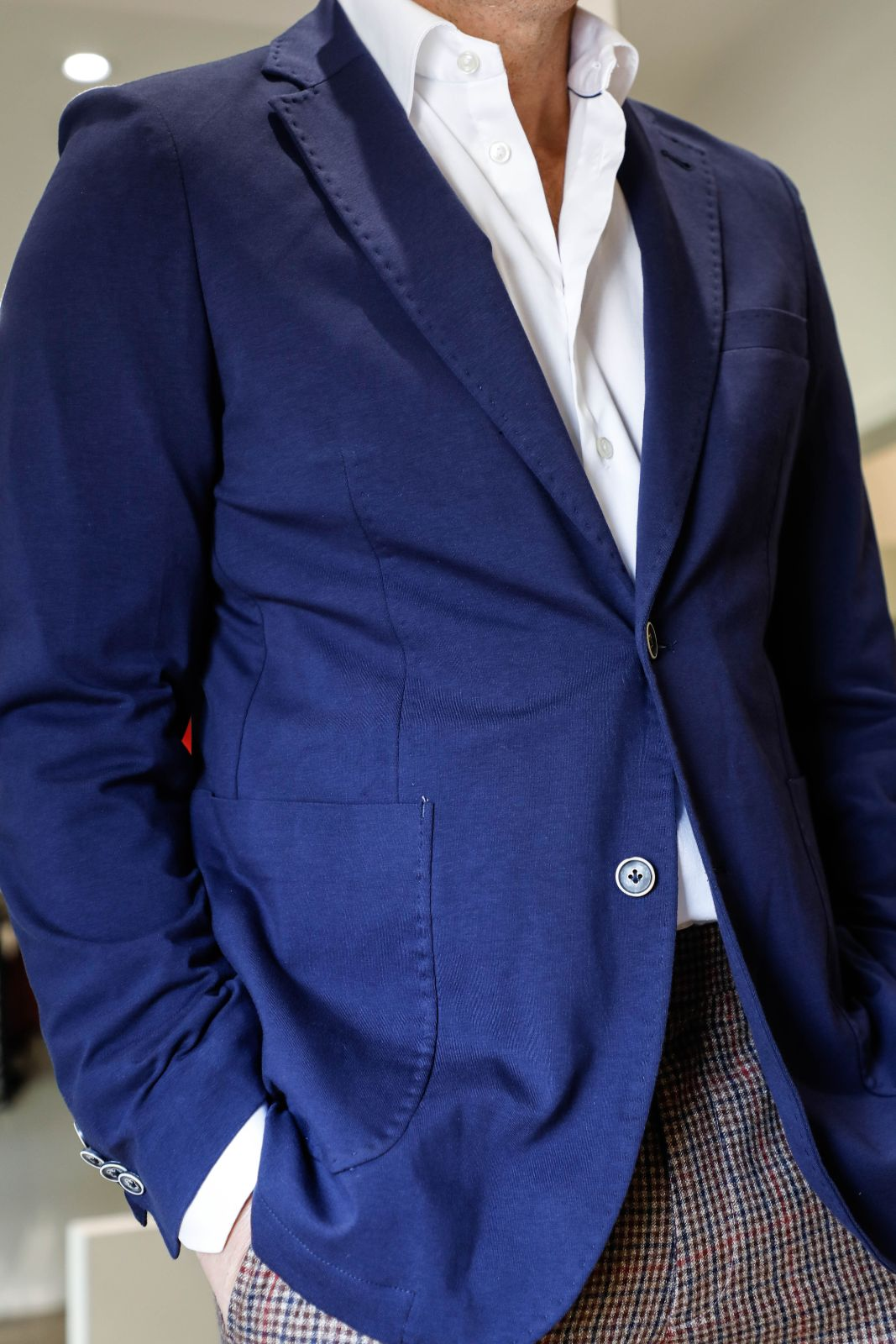 Navy 2 Button Jacket