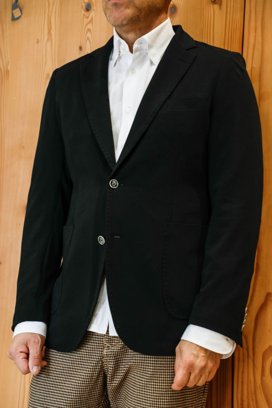 Black 2 Button Jacket