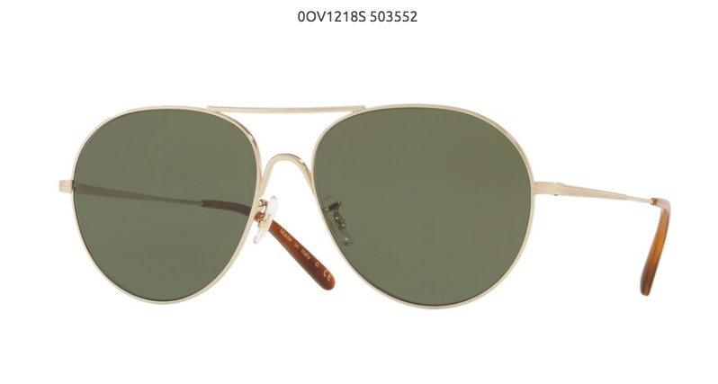 Aviator Sunglasse 50354Q
