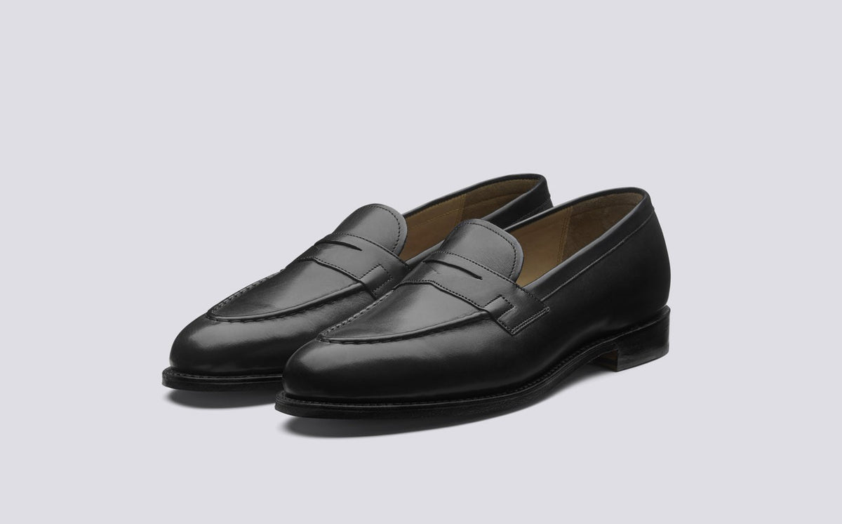 Lloyd Black Loafer