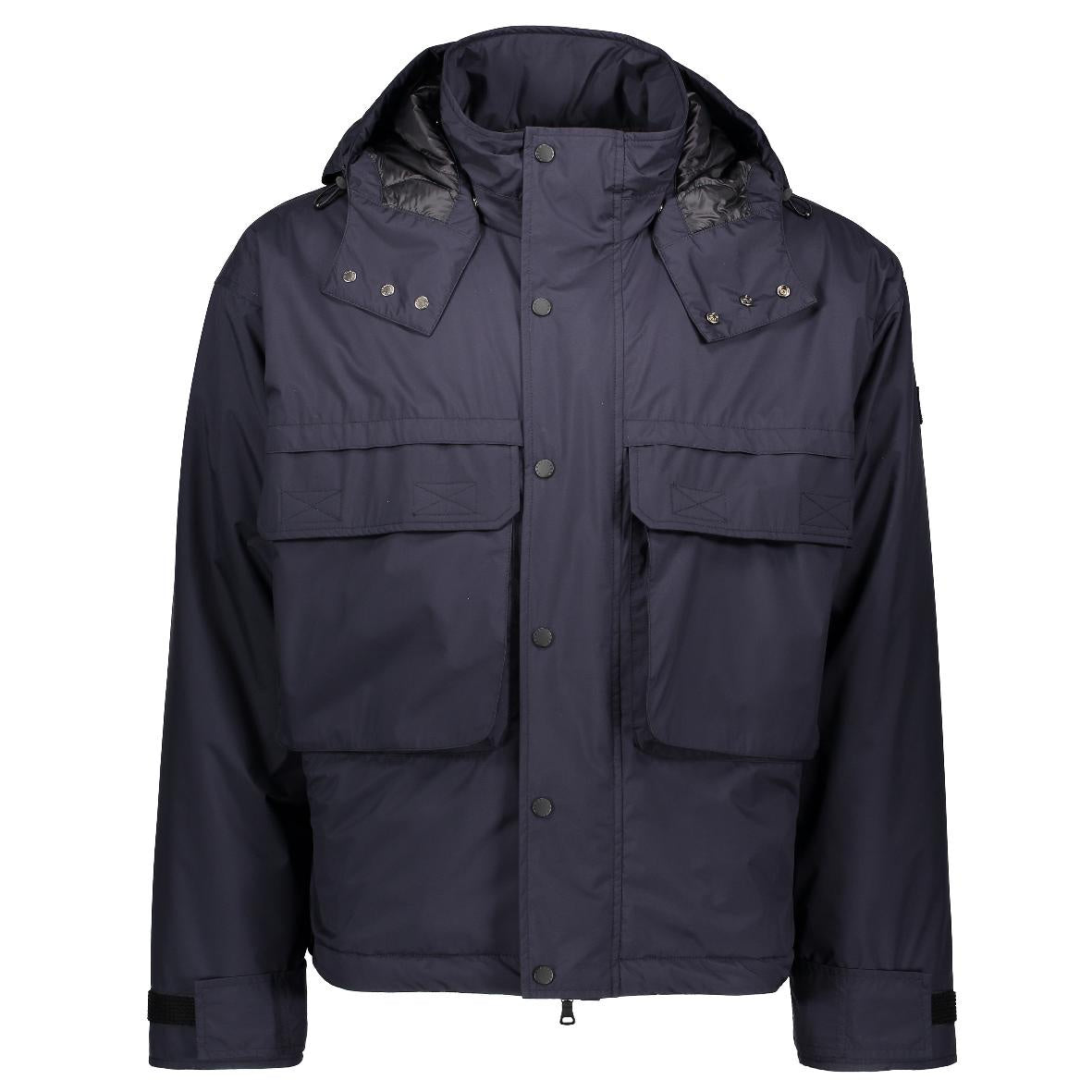 Navy Jacket Big Pocket- Large