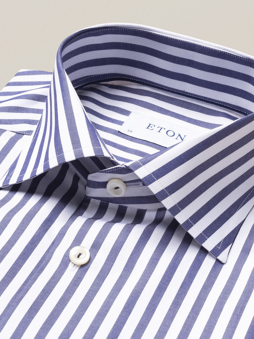 Blue Bold Stripe Shirt