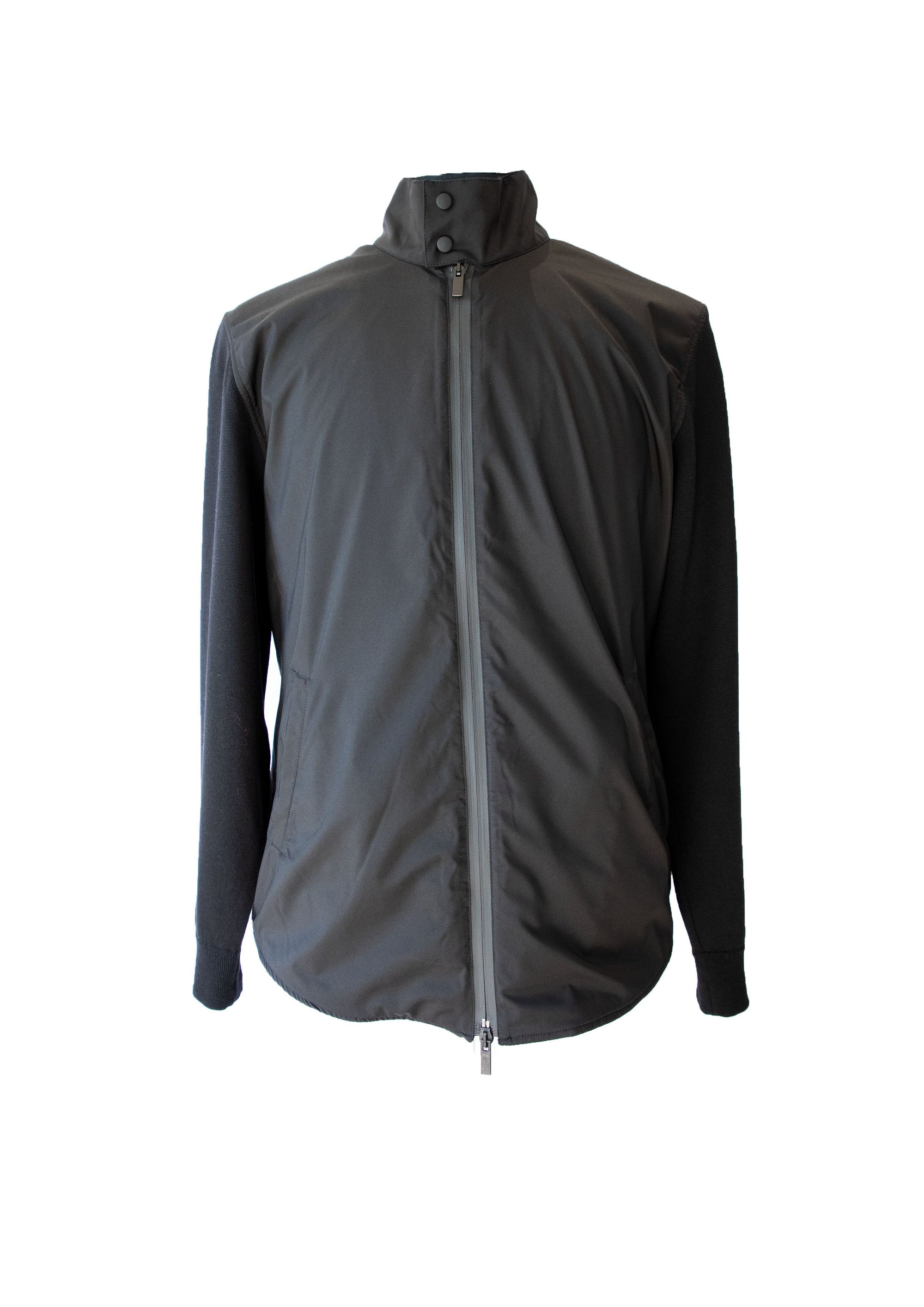Zip Rain Wool Jacket