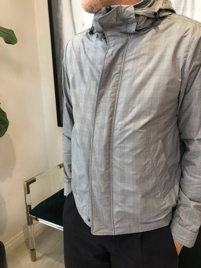 Prince of Wales check Woven Jacket