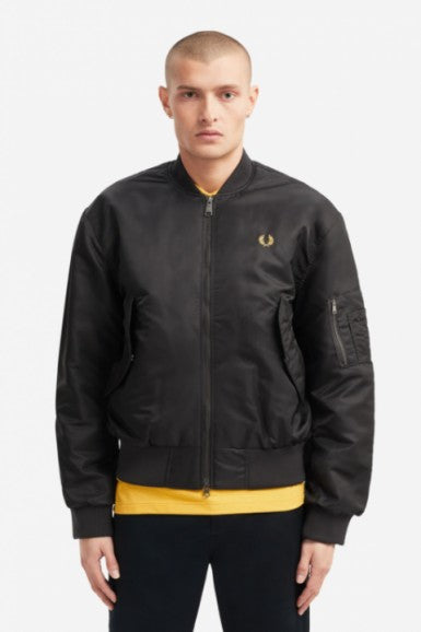 Quilted Bomber Jacket Fred Perry