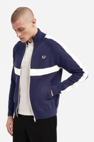 Tapped Knitted Track Jacket