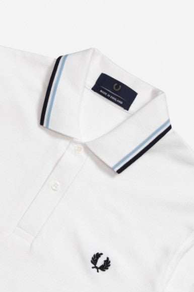 Classic Fred Perry Polo White