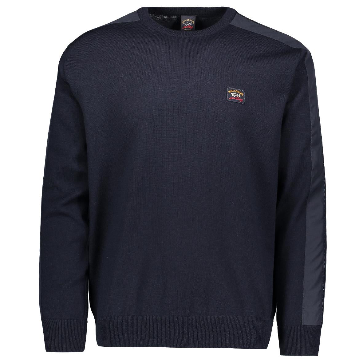 Navy Crew Neck Knit- Large