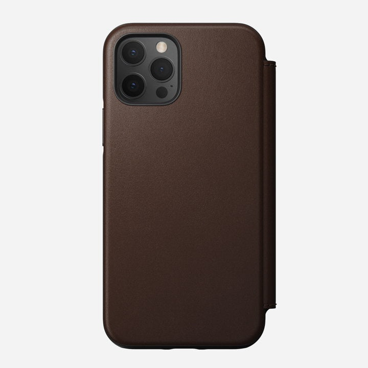 Iphone 12 Pro Rugged Brown Folio