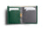 Note Sleeve Wallet Racing Green RFID